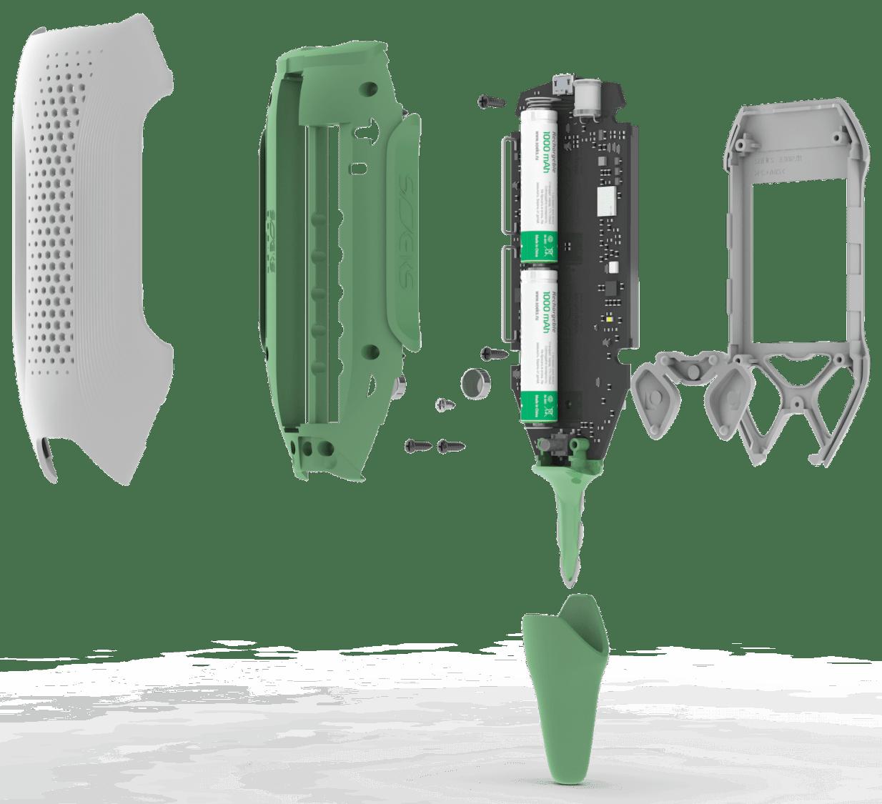 SOEKS EcoVisor F2 components